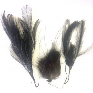4 plumes d'autruche