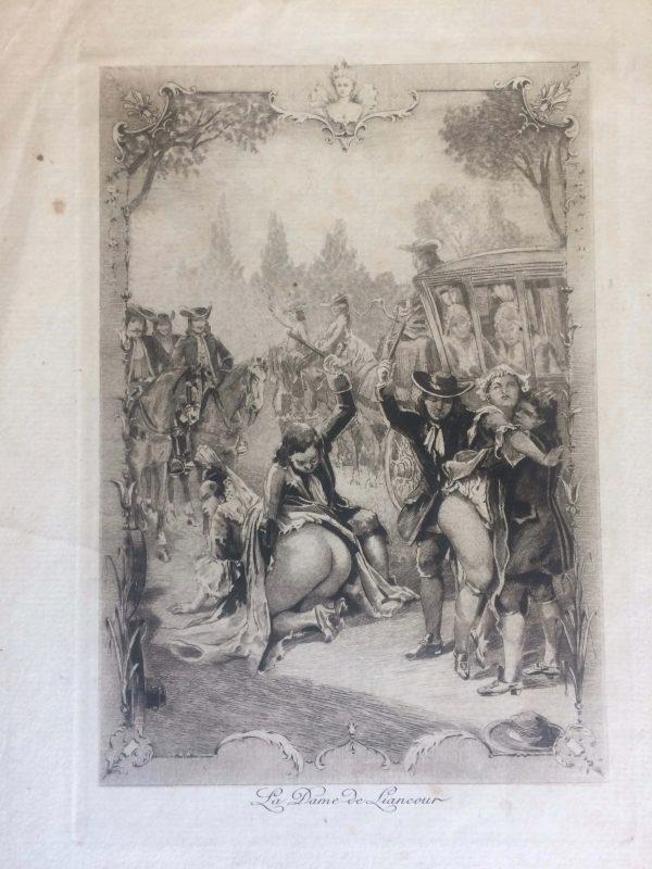 Punition En Public De La Dame De Liancour