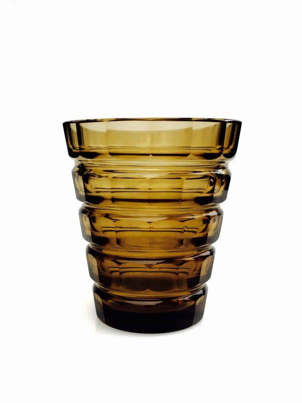 Vase en verre signé daum nancy
