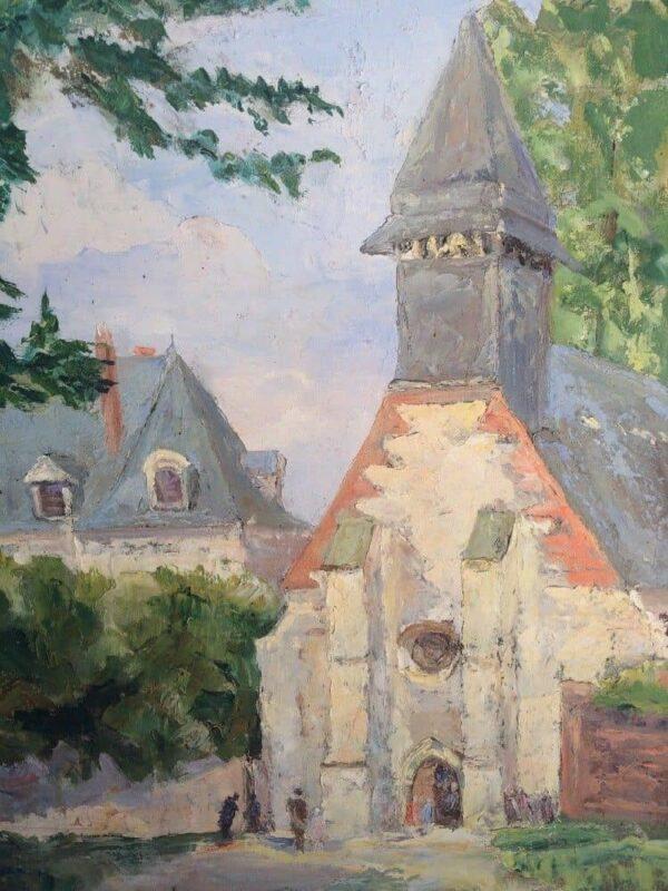 WALLET FOUQUES tableau eglise