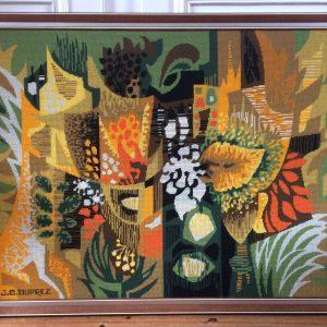 Jean Claude DUPREZ tapisserie vintage