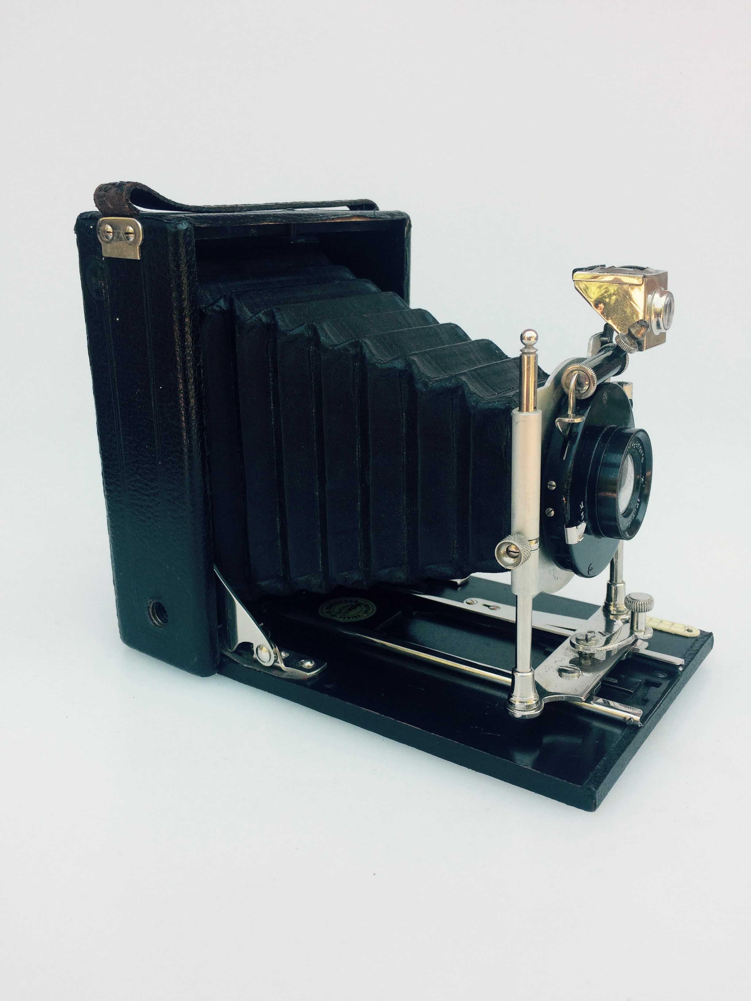 appareil photo soufflet dr r krugener 39 s avec 6 portes plaques. Black Bedroom Furniture Sets. Home Design Ideas