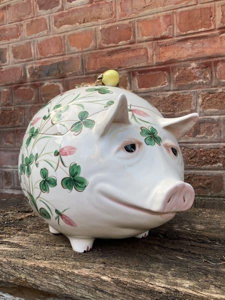 richard ginori cochon en céramique boite