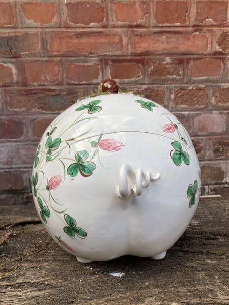 richard ginori cochon en céramique servant de boite 4