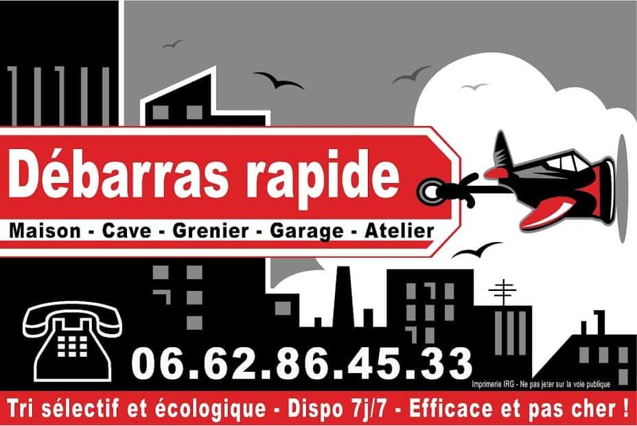 Débarras de maison à Amiens et Picardie.