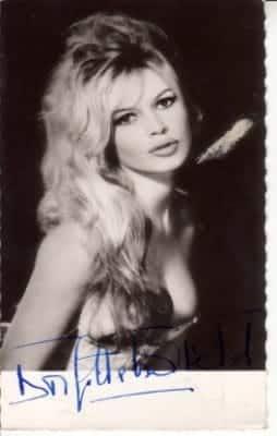 Brigitte Bardot Star du cinéma et de la chanson