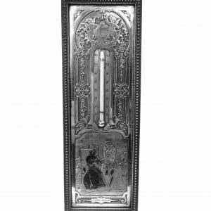 B.WICKER thermomètre plaque en métal argenté – La bonne aventure