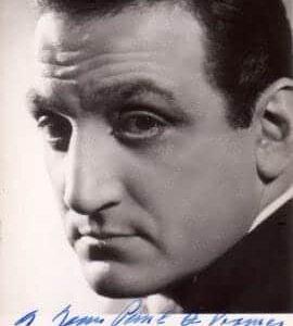 Photos dédicacés de star du cinéma et de la chanson française