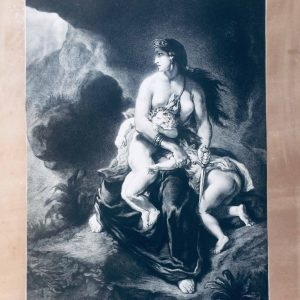 Eugène Delacroix Médée furieuse