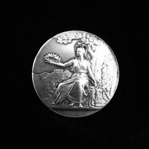 Médaille en argent minerve