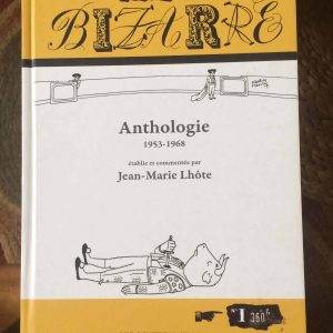 Revue BIZARRE Anthologie – Berg international – Cabu Wolinski Siné Rimbaud Degas