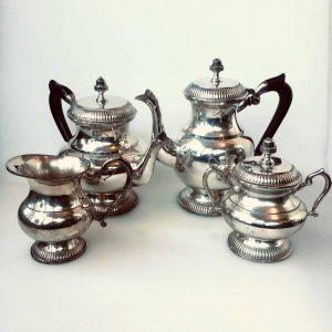Service à thé et à café LOUIS XV – CRISTOFLE collection GALLIA