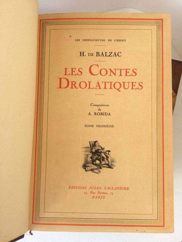 Contes drolatiques