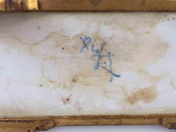 Sèvres Centre de table signature