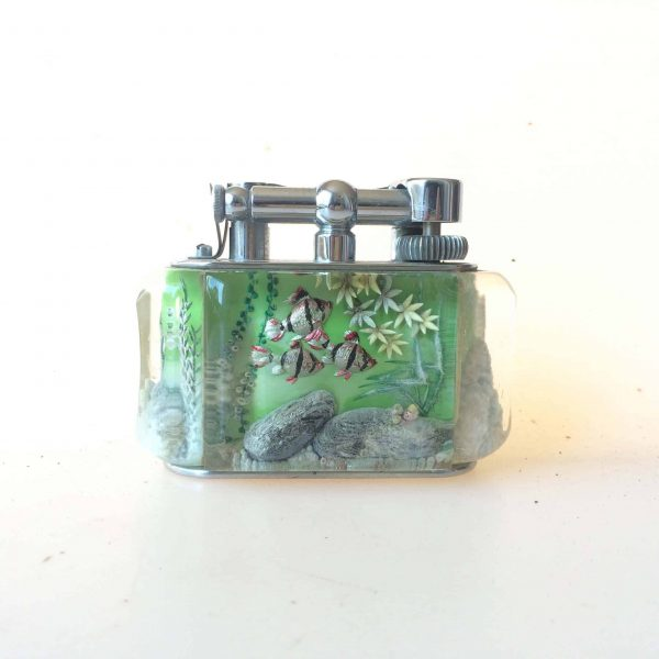 Briquet dunhill aquarium