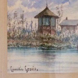 GRAVIS Camille – Bateau naviguant sur l'eau