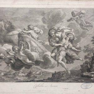 Cephalus and Aurora – par F. Boucher – Gravé par F. Bartolozzi