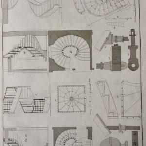 Modèles de menuiserie – L'art du Menuisier et traité des escaliers