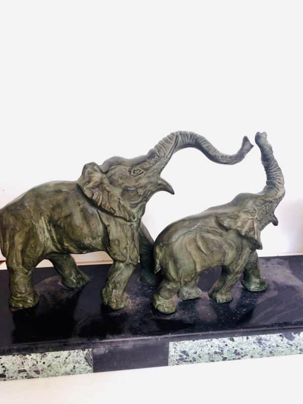 éléphants signé decoux