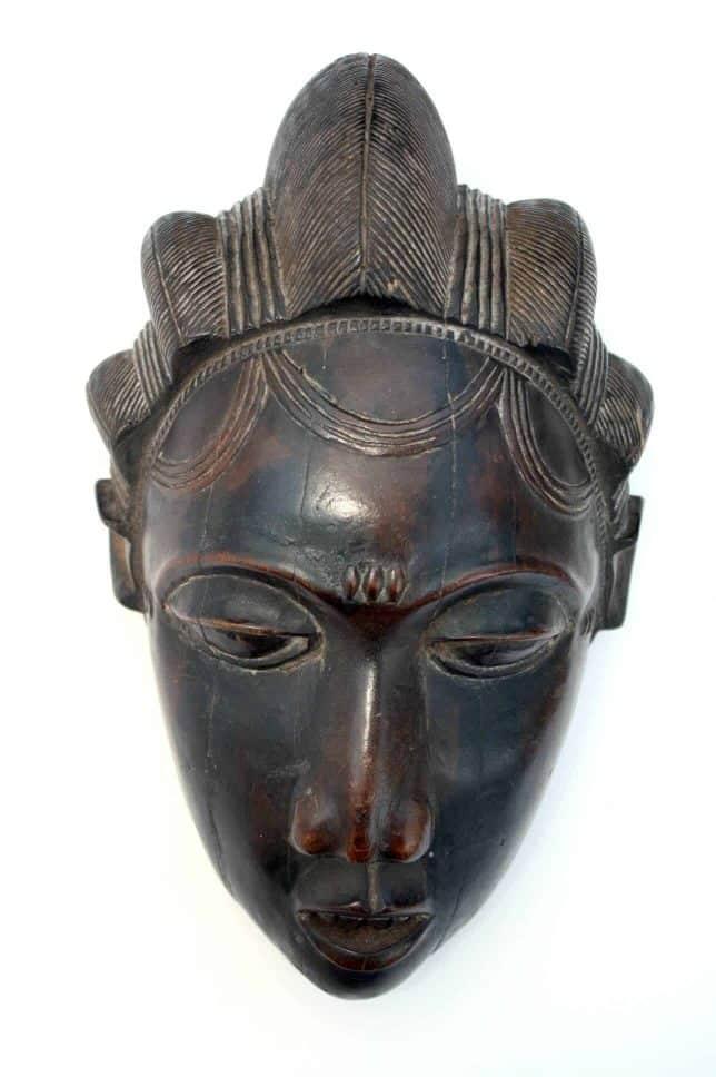 Collection de masques d'Afrique de l'ouest