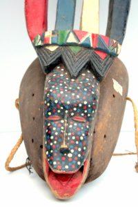 masque de parade de Haute Volta