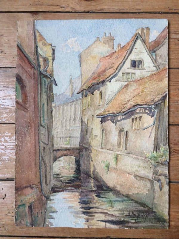 B. Mackiewicz aquarelle