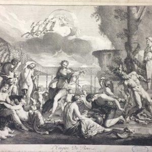 Gravure de L'Empire De Flore 1