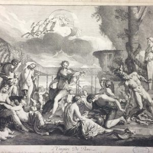 L'Empire De Flore – Nicolas POUSSIN – Girard AUDRAN