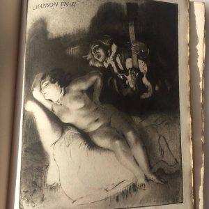 Poèmes à l'eau-forte – Illustrations de Louis Legrand Paris, Gustave Pellet 1914