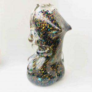 Vase en verre bousillé de la vallée de la Bresles