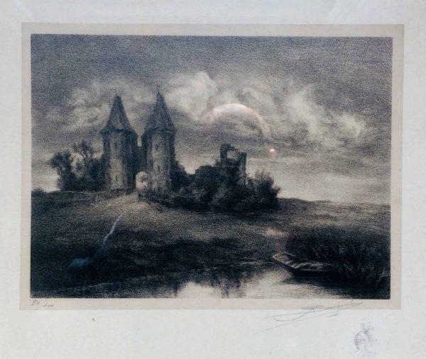 ruines du château d'airaines