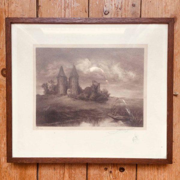 ruines du château d'airaine