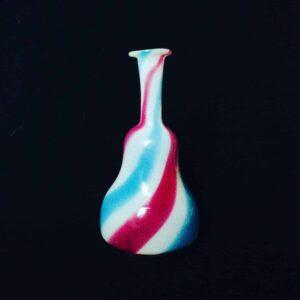 Flacon en verre tricolore de CLICHY