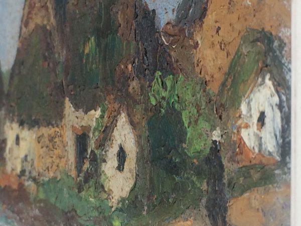 Georges Prestat tableau détails peinture