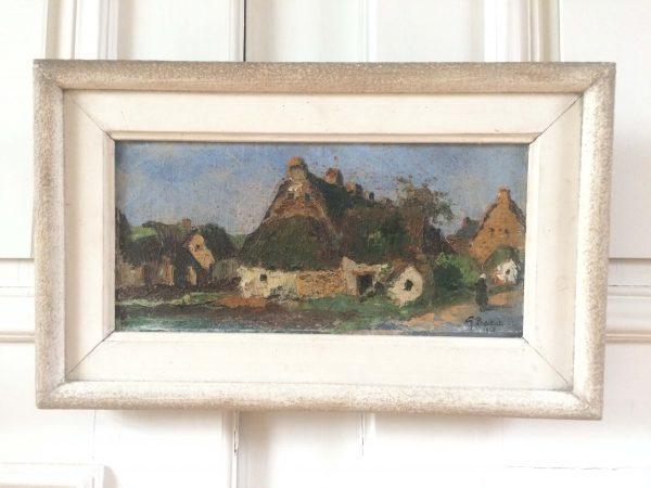 Georges Prestat tableau peinture à l'huile