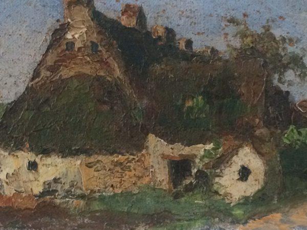 Georges Prestat tableau maison