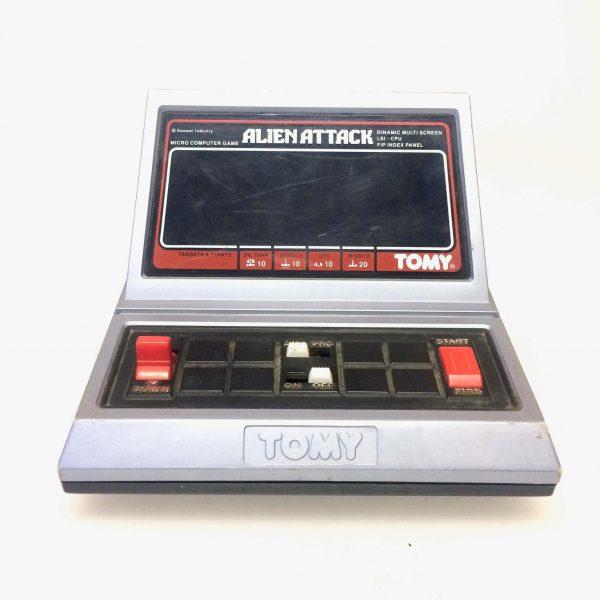 Alien attack tomy jeu vintage