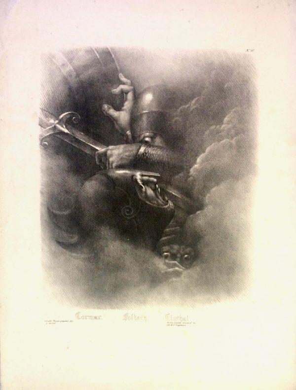 Girodet-Trioson – CORMAR FOLDATH ET CLOTHAL lithographie