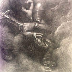 Lithographie de Girodet-Trioson – CORMAR FOLDATH ET CLOTHAL