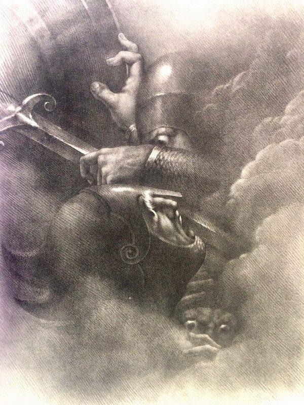 Girodet-Trioson – CORMAR FOLDATH ET CLOTHAL lithographie grande