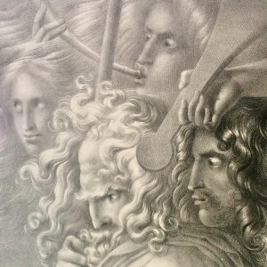 Lithographie de Girodet-Trioson – GALVINA TRENMOR MORAR CRUGAL