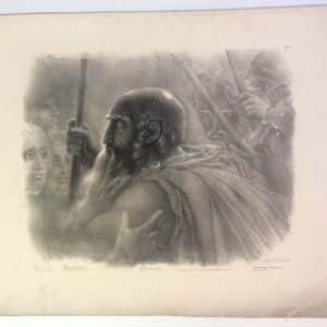 Lithographie de Girodet-Trioson – HOCHE JOUBERT OSSIAN