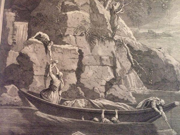 Jean Audran d'après Nicolas Poussin - L'hiver
