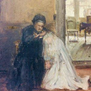 Jules BOQUET – Tableau École Française – La Mariée