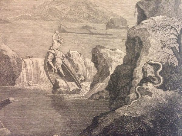 jean audran nicolas poussin l'hiver barque serpent
