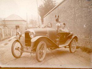 photo voiture ancienne décapotable