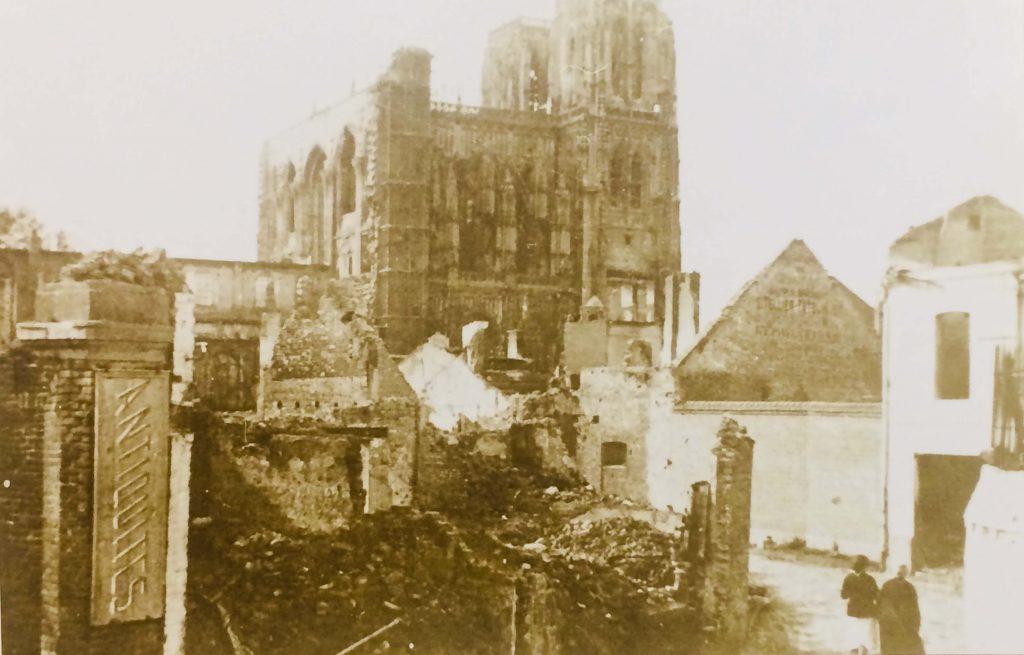 Abbeville, Saint Vulfran après les bombes