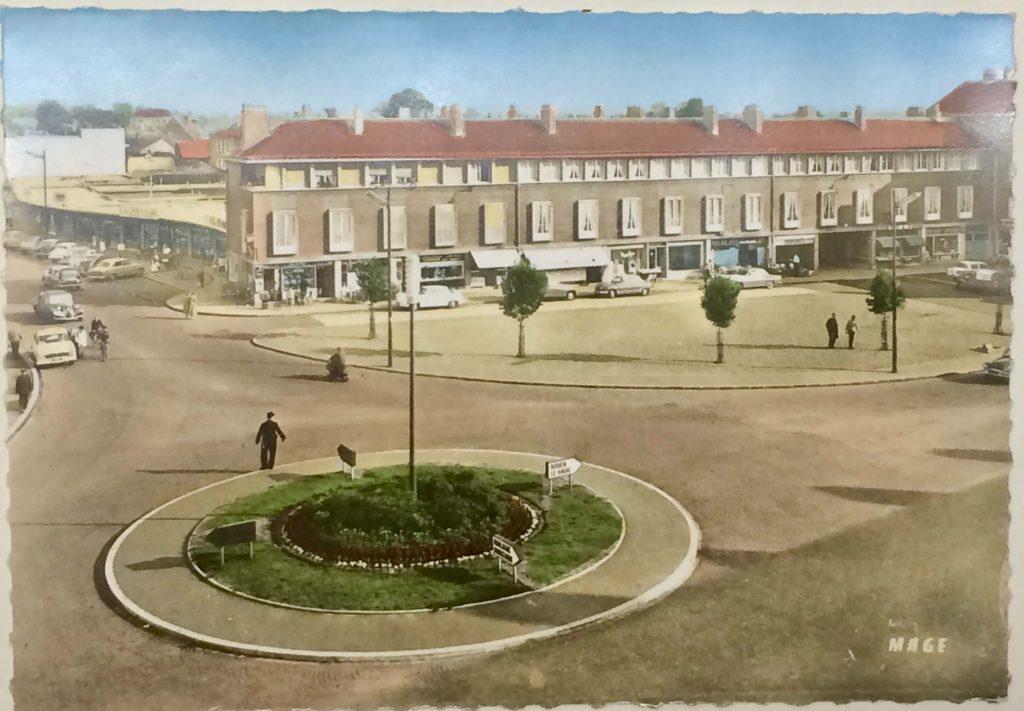 Abbeville - place max lejeune en 1950