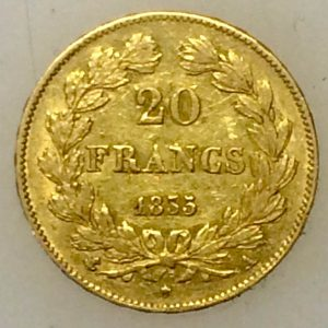 Louis Philippe 20 francs OR de 1835