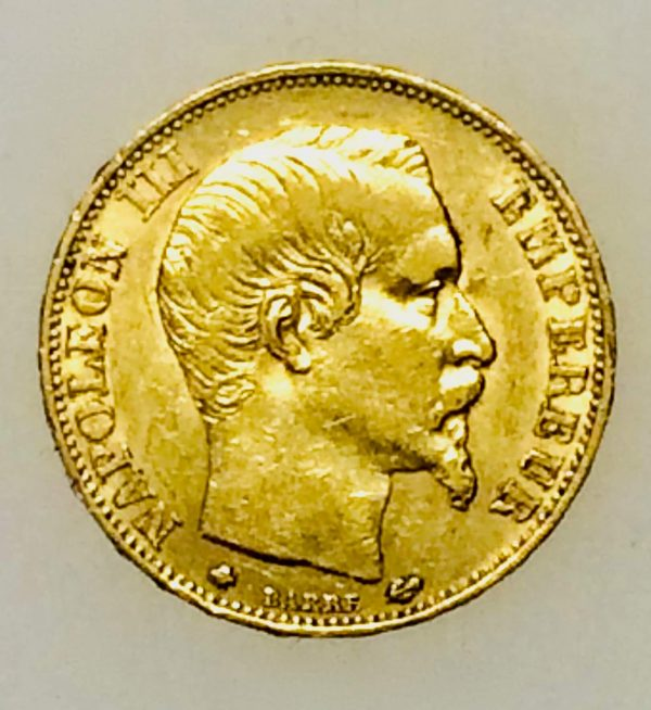 Napoléon III - 20 francs OR de 1860